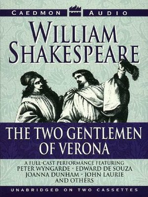 cover image of The Two Gentlemen of Verona